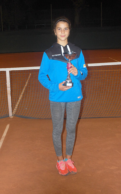 Sveva Pieroni - I classificata Tab. femminile