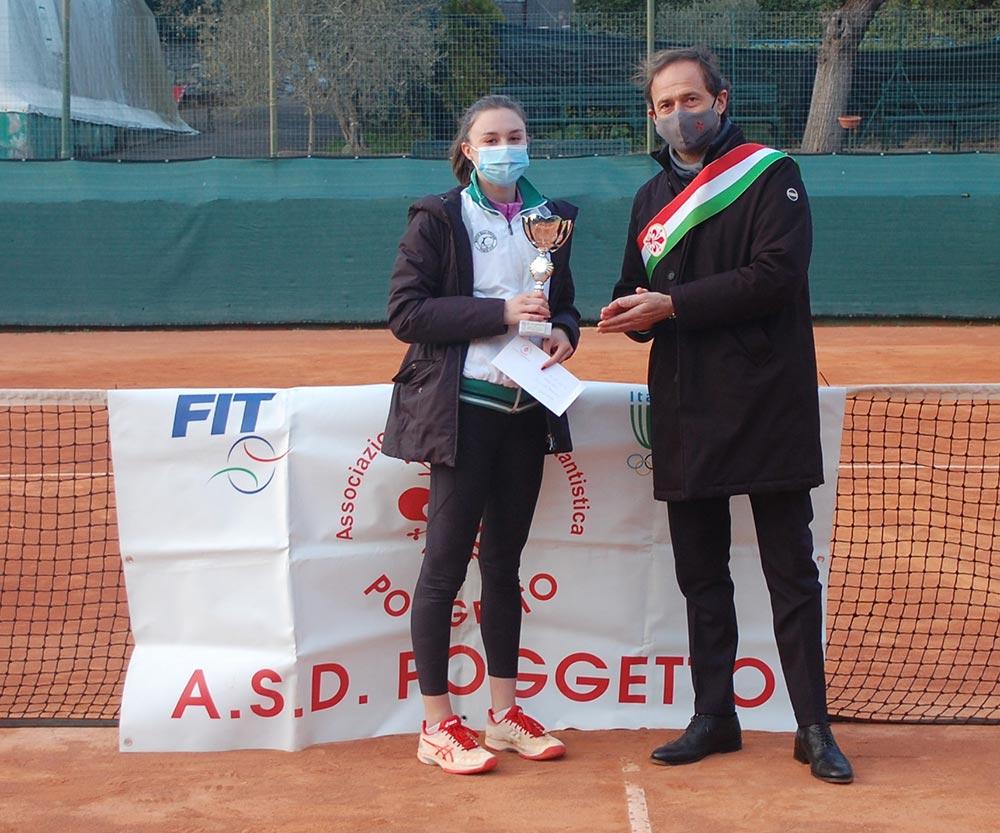 1 Class. Camilla Galli(Match Ball Firenze)